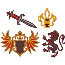 Spellbinders Shapeabilities Limited Edition Heraldry Dies
