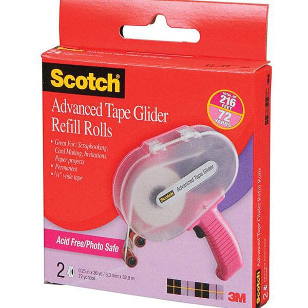 Scotch Advanced Tape 36-yard Glider Refills (Pack of 2)