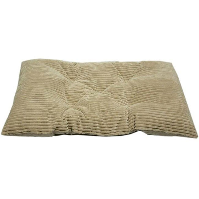 Tufted Beach Chenille Corduroy Crate Pet Pad