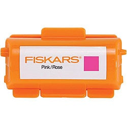 Fiskars Continuous Stamp Pink Ink Cartridge