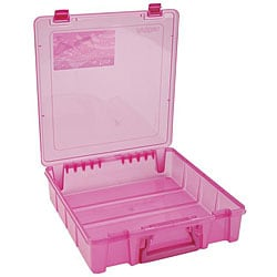 ArtBin Translucent Raspberry Super Satchel Single Compartment