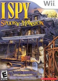 Wii - I Spy Spooky Mansion