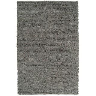 Hand-woven Nimbus Dark Seafoam Wool Rug (8'x10')