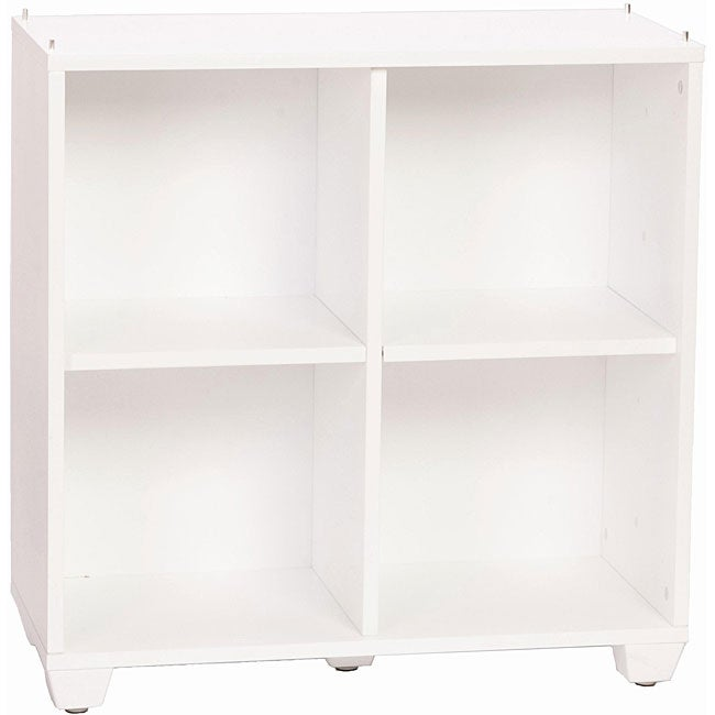 VP Home I-Cubes Double Double White Storage Tower