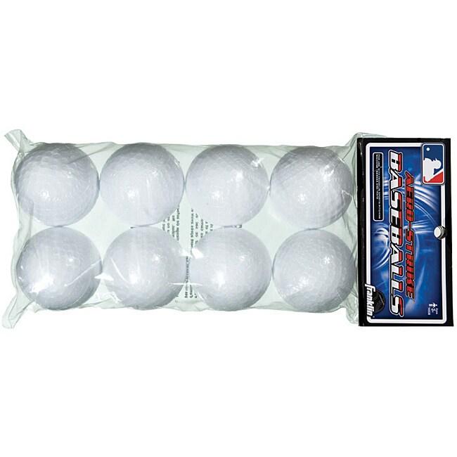 MLB Plastic Baseballs (Pack of 8)