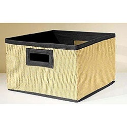 VP Home I-Cubes Black Storage Baskets (Pack of 3)