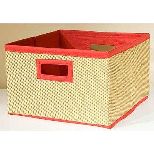 VP Home I-Cubes Red Storage Baskets (Pack of 3)