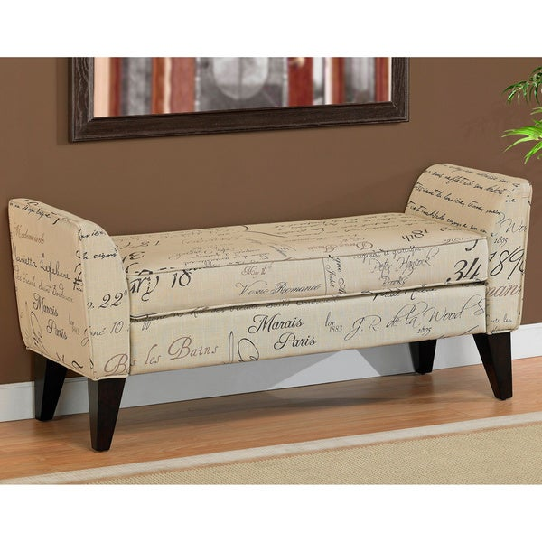 overstock upholstered bench 3