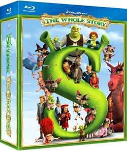Shrek The Whole Story Quadrilogy (Blu-ray Disc)