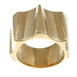 Sterling Essentials 14K Gold over Silver Runway Ring