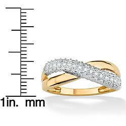 Isabella Collection 10k Gold Diamond Women's Ring