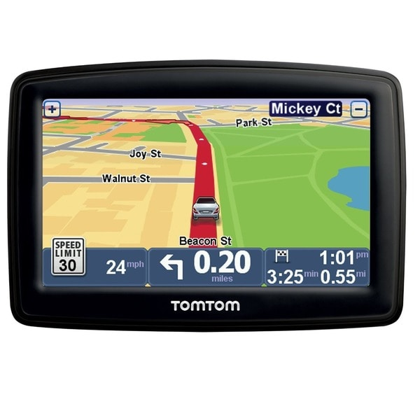 "TomTom GO 50S 5"" GPS Receiver with Built-In Bluetooth and Lifetime Traffic and Map Updates (Bulk Package)"