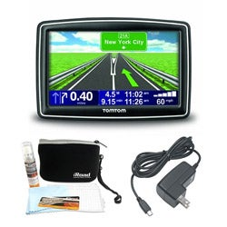 TomTom XXL 540 S 5-inch Touch Screen GPS Navigation with Deluxe Accessories Kit