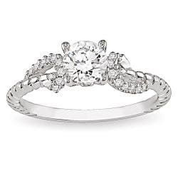 14k White Gold 5/8ct TDW Diamond  Ring (G-H, I2-I3)