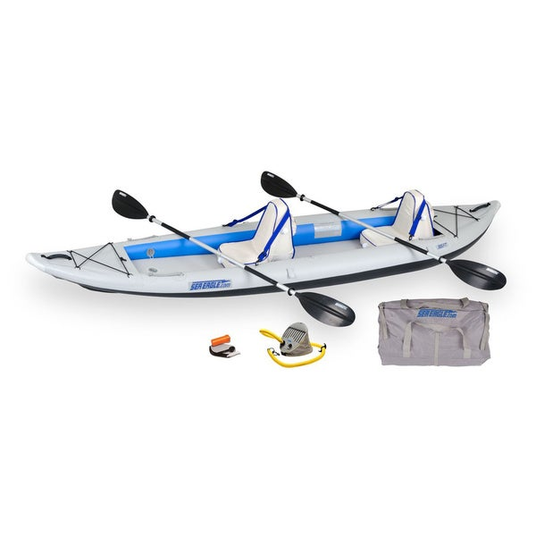 Sea Eagle Fast Track Deluxe Package Inflatable Kayak