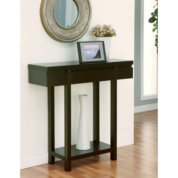 Hallway Console Table : Furniture of America Holme Red Cocoa Hallway Table - 13133296 ...