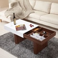 Novia 2-Tone Wood Coffee Table