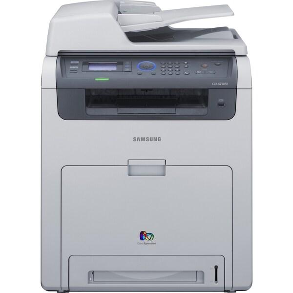 Samsung CLX-6250FX Laser Multifunction Printer - Color - Plain Paper