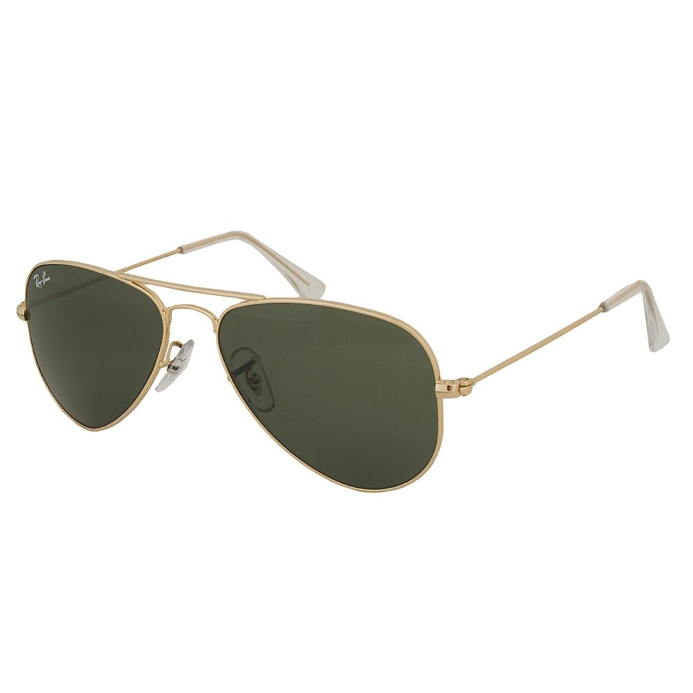 Ray-Ban Unisex Small-scale Goldtone Aviator Sunglasses