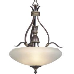 Highland Bronze 3-light Pendant