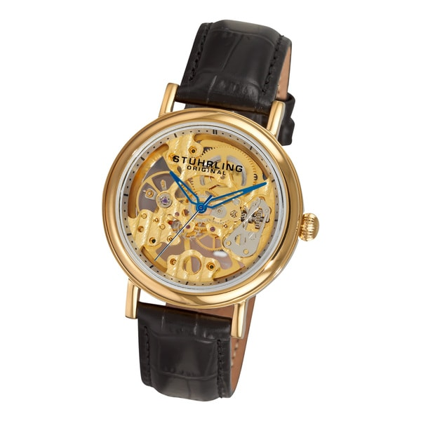 Stuhrling Original Women's Lady Montague Skeleton Mechanical Watch