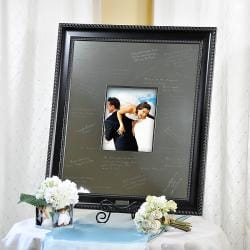 Elegant Engraveable Signature Frame
