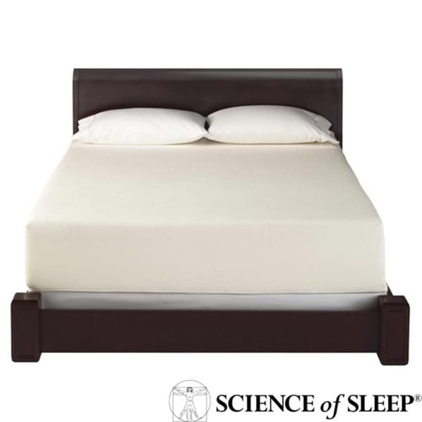 Science of Sleep Bedbug Allergen Barrier Queen-size Total Mattress Encasement