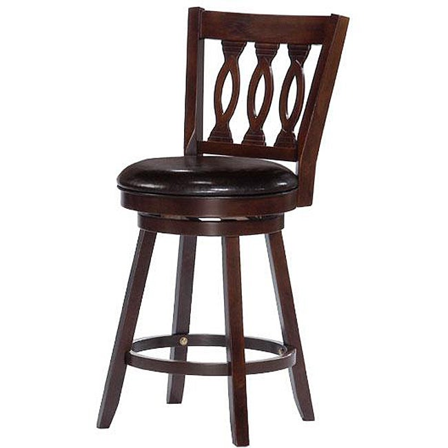 Orlenda Swivel Wood Counter Height Stool 13134782