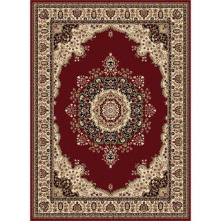 Soho Red Oriental Rug (5'3 x 7'3)