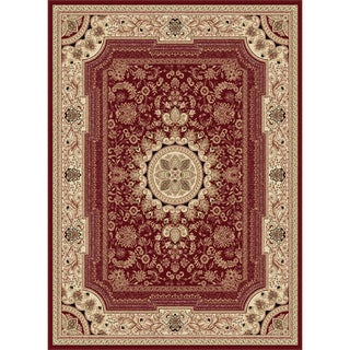 "Soho Red Oriental Area Rug (5'3"" x 7'3"")"