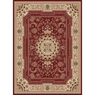 Soho Red Oriental Area Rug (5'3