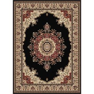 Soho Black Oriental Rug (8'9 x 12'3)