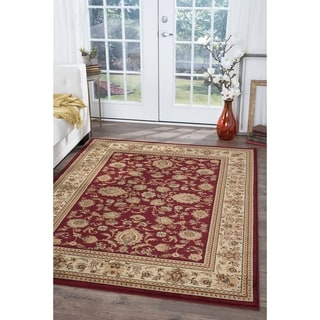 Soho Red Oriental-pattern Area Rug (8'9 x 12'3)