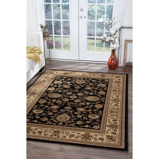 Soho Black Oriental Area Rug (8'9 x 12'3)