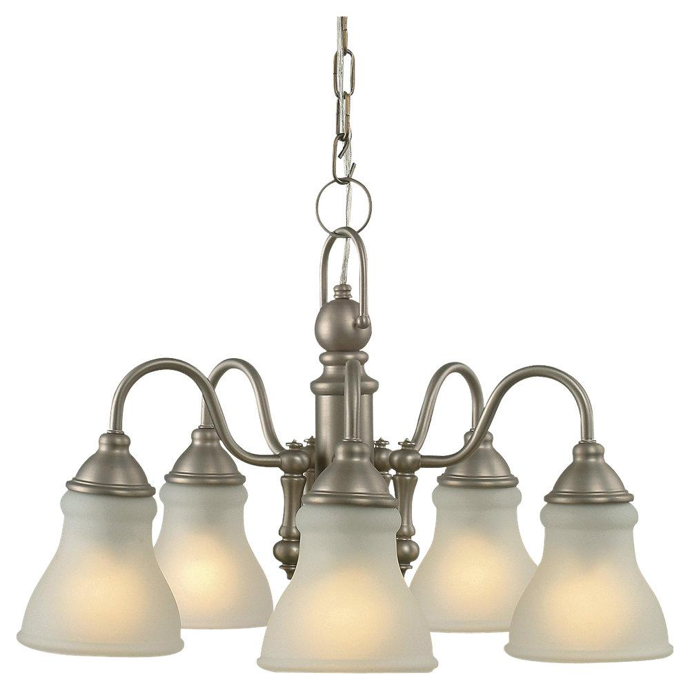 Royce 5-light Antique Brushed Nickel Finish Chandelier