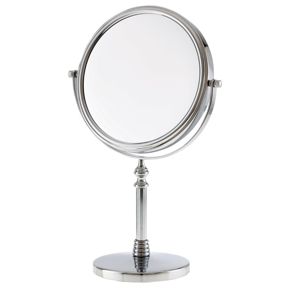 Danielle 1x-10x Chrome Sculpted Stem Vanity Mirror