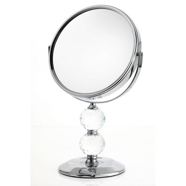 Danielle 1x 10x Double Crystal Ball Vanity Mirror