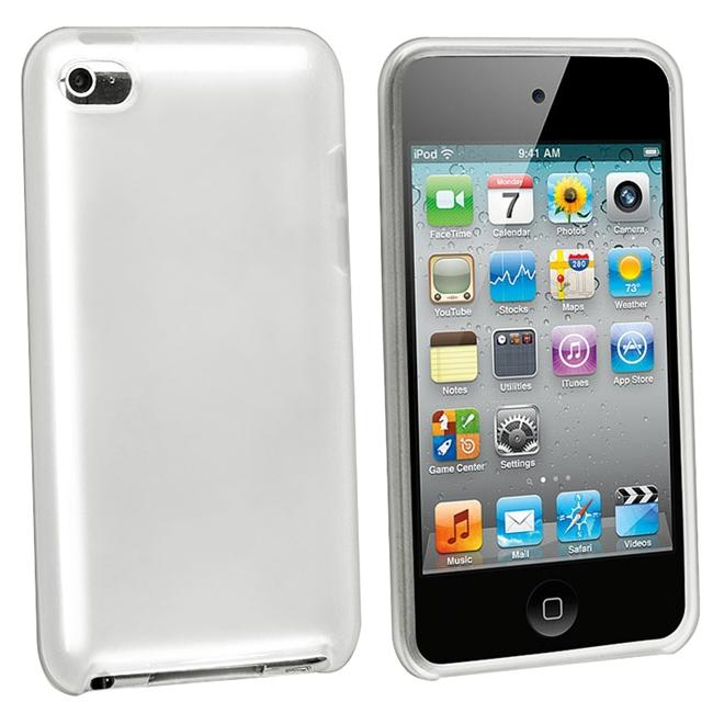 INSTEN Frost Smoke TPU Rubber iPod Case Cover for Apple iPod Touch
