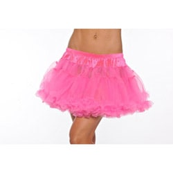 Hot Pink Kate Two-layer Petticoat