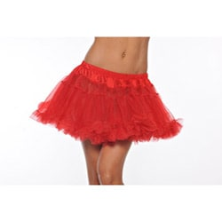Red Kate Two-layer Petticoat