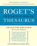Roget's International Thesaurus (Paperback)