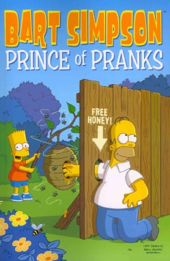 Bart Simpson Prince of Pranks (Paperback)