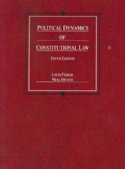 Political Dynamics of Constitutional Law (Paperback)