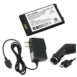 Battery and Charger Set for LG Voyager VX10000