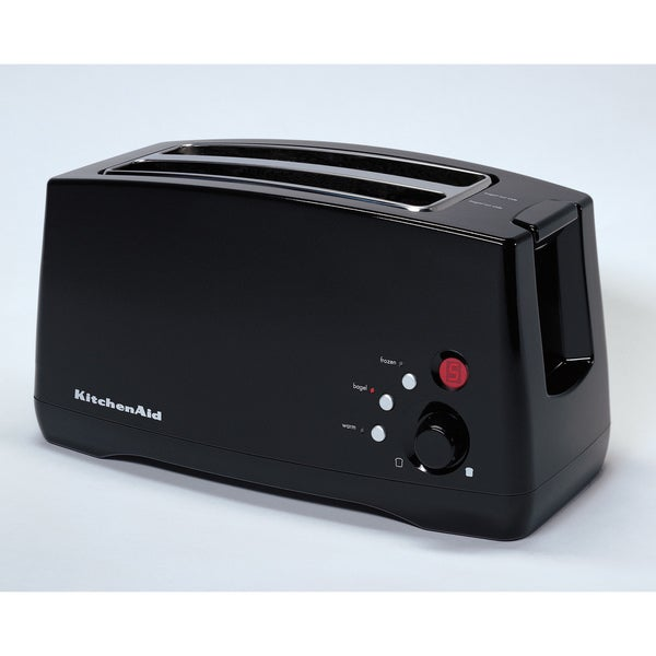 Black Kitchenaid Toaster: KitchenAid KTT570OB Onyx Black 4-slice Digital Toaster