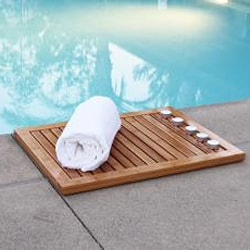 Oceanstar Bamboo Floor or Outdoor Mat