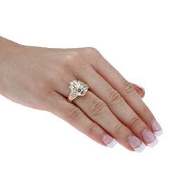 14K Yellow Gold 1 3/8ct TDW Vintage Diamond Knot Ring (H-I, SI1-SI2)