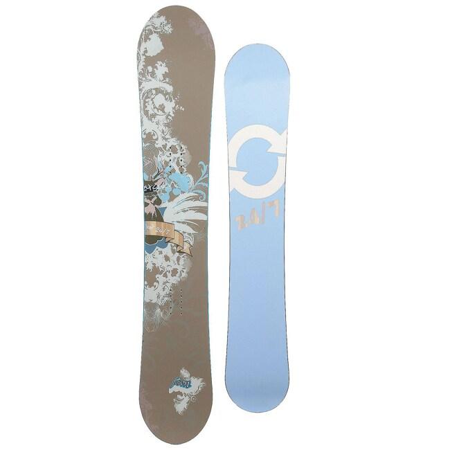 24 Seven Women's Blue 'Fawn' 155-cm Snowboard