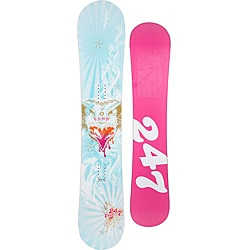 24/7 Women's 'Fawn' 159 cm Free-ride Directional Snowboard