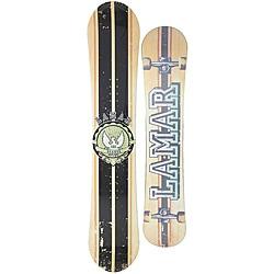 Lamar Men's 'Blazer' Skate-inspired 163 cm Directional Snowboard
